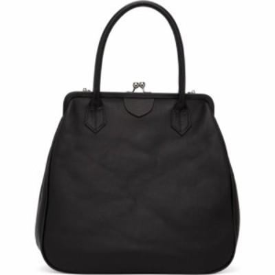 ワイズ Ys レディース ハンドバッグ バッグ Black Clasp Top Handle Bag Black