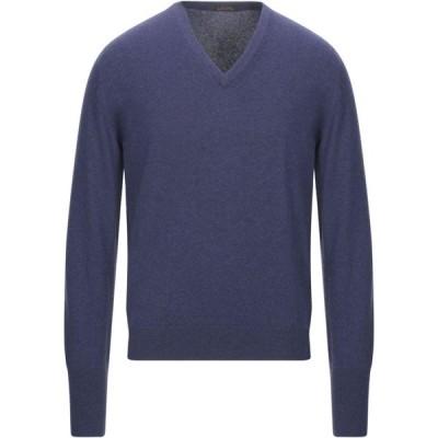 バランタイン BALLANTYNE メンズ ニット・セーター トップス Cashmere Blend Dark purple