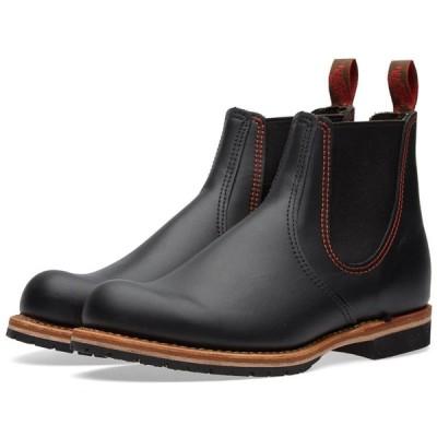 レッドウィング Red Wing メンズ ブーツ チェルシーブーツ シューズ・靴 2918 Chelsea Rancher Boot Black Star