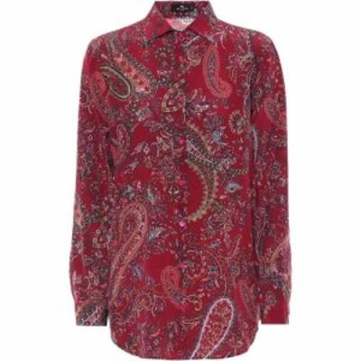エトロ Etro レディース ブラウス・シャツ トップス paisley silk twill blouse