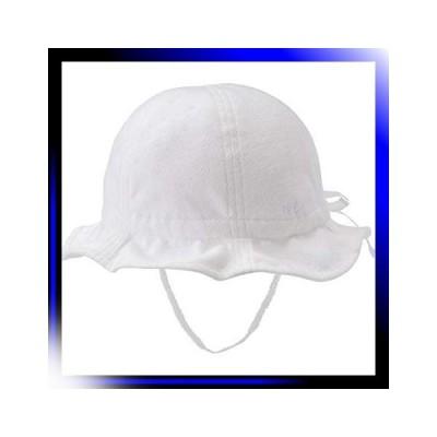 S48-50/白 ミキハウス ホットビスケッツ 帽子 72-9102-450