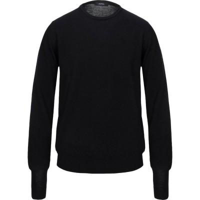 アルファス テューディオ ALPHA STUDIO メンズ ニット・セーター トップス sweater Black