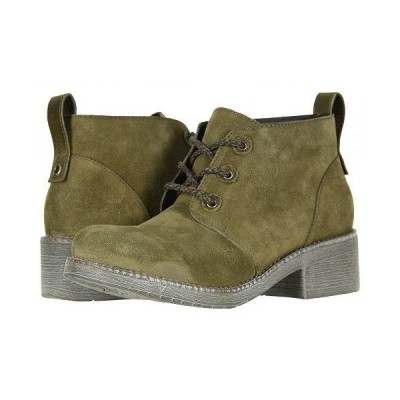 Naot ナオト レディース 女性用 シューズ 靴 ブーツ アンクルブーツ ショート Love - Oily Olive Suede/Vintage Pine Leather