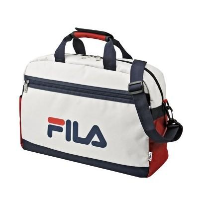 FILA フィラ ボストンバッグ ホワイト 02-5274