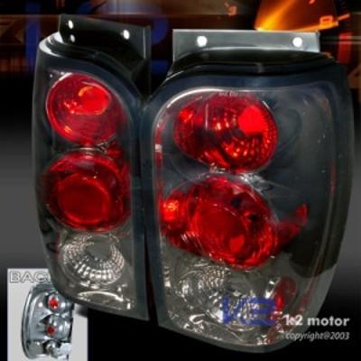 テールライト 1998-2001フォードエクスプローラースモークテールテールライトペア 1998-2001 Ford Explor