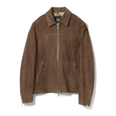 ジャケット ライダースジャケット CINQUANTA / スエード シングルライダースジャケット