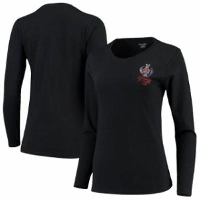 Titania Golf タイタニア ゴルフ スポーツ用品  Womens Black 2019 Solheim Cup Long Sleeve T-Shirt