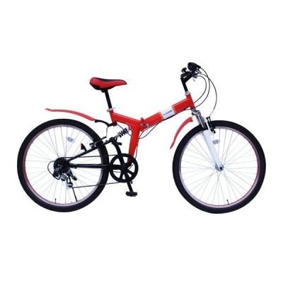 フィールドチャンプ 26型折りたたみ自転車 200518070 MG-FCP266E