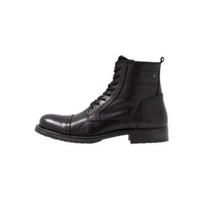 ジャック アンド ジョーンズ メンズ ブーツ&レインブーツ シューズ JFWRUSSEL - Lace-up ankle boots - anthracite anthracite