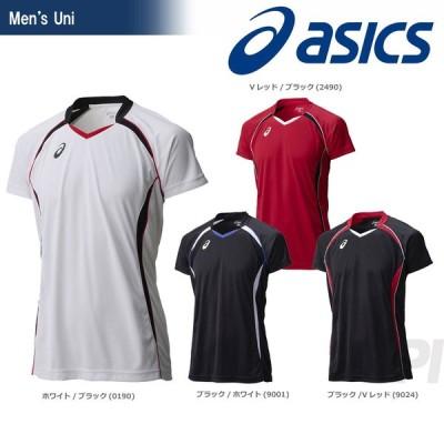 アシックス asics 「ゲームシヤツHS XW1316」バレーボールウェア「KPI」