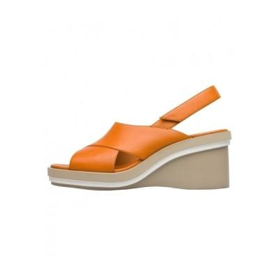 カンペール サンダル レディース シューズ KYRA  - Wedge sandals - orange