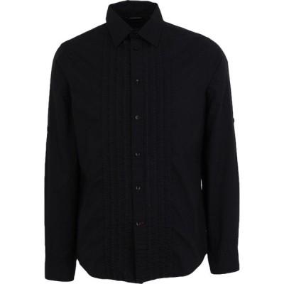 ゲス GUESS メンズ シャツ トップス solid color shirt Black