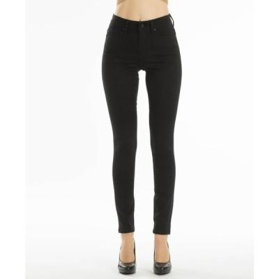 カンクン レディース デニムパンツ ボトムス High Rise 5 Pocket Skinny Jeans