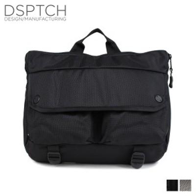 ディスパッチ DSPTCH バッグ ショルダーバッグ SHOULDER BAG 12L メンズ レディース ブラック グレー PCK-SB