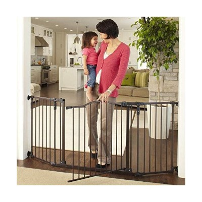 North States Supergate Deluxe Decor Metal Gate, Matte Bronze by North State