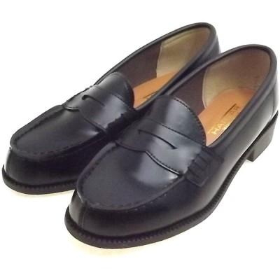[ミラノカガク] 通学用ローファー 学生 通学靴 (23.0cm)
