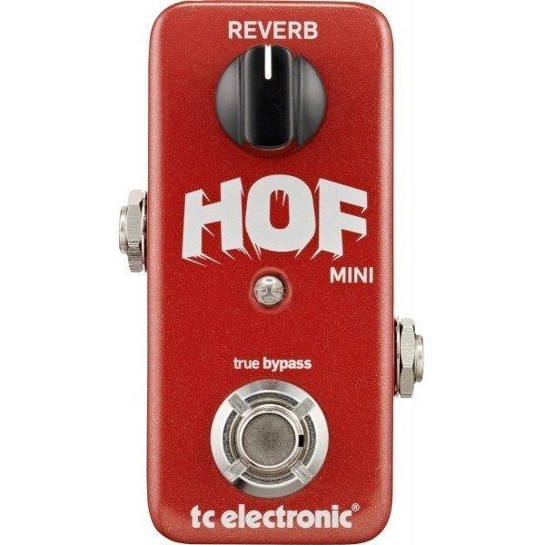TC Electronic HOF Mini Reverb 單顆 空間 效果器【唐尼樂器】