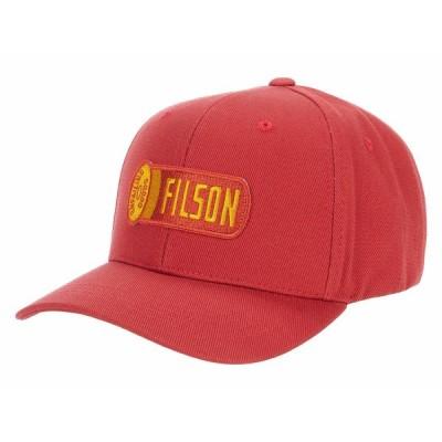 フィルソン 帽子 アクセサリー メンズ Logger Cap Cardinal Red