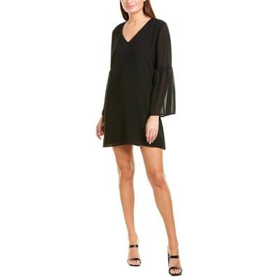 シングル ワンピース トップス レディース Single Stephanie Shift Dress black