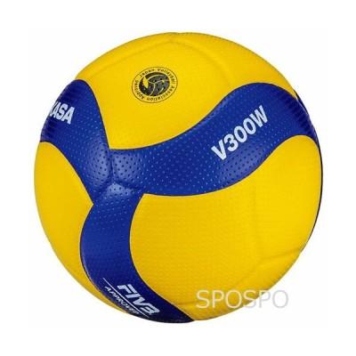 MIKASA ミカサ バレーボール 5号球 国際公認球 高校試合球 ミカサ MIKASA V300W FIVB