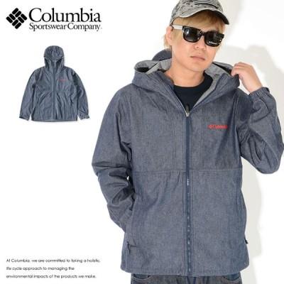 COLUMBIA コロンビア ジャケット デニム フード コラボ DOCTOR DENIM HONZAWA (PM3820) セール