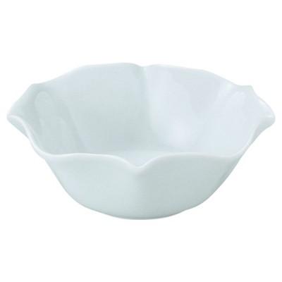 美濃の和食器 花伝花笑み 青白 10.5cmボウル