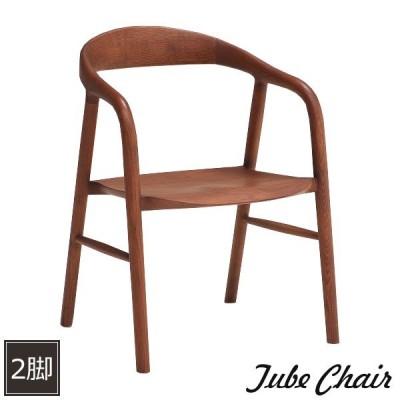 ダイニングチェア 2脚セット 北欧 安い チェア 木製 椅子 イス リビングチェア