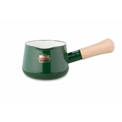 ミルクパン ソリッド 12cmミルクパン グリーン 富士ホーロー ハニーウェア ホーロー片手鍋