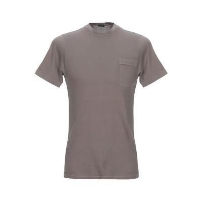 ZANONE T シャツ 鉛色 XL コットン 100% T シャツ