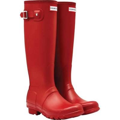 ハンター レディース ブーツ・レインブーツ シューズ Hunter Women's Original Tall Boot