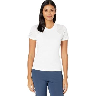 アディダス adidas レディース Tシャツ トップス Tennis Club Tee White/Grey