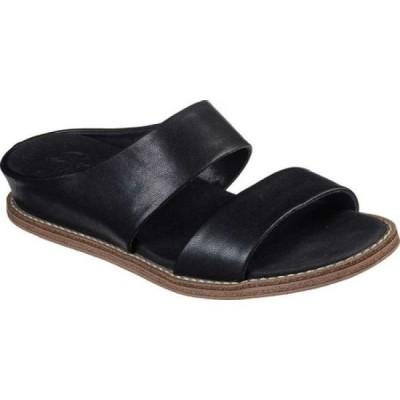 スケッチャーズ Skechers レディース サンダル・ミュール シューズ・靴 Sweet Chic Groupie Slide Black