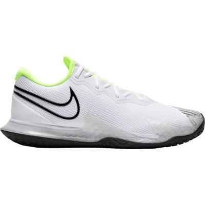 ナイキ スニーカー シューズ メンズ Nike Men's NikeCourt Air Zoom Vapor Cage 4 Tennis Shoes Black/White/Volt