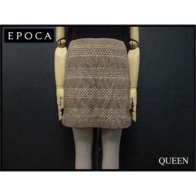 EPOCA ニットスカート・40□エポカ¨