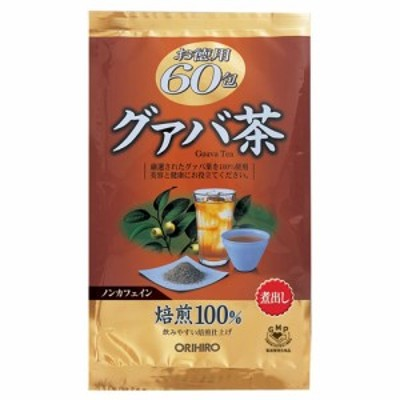 オリヒロ お徳用グァバ茶60包 2g×60包×7