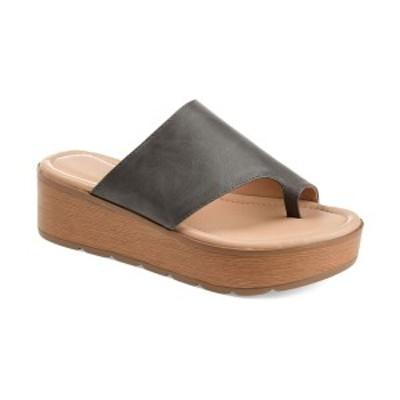 ジャーニーコレクション レディース サンダル シューズ Women's Comfort Arabel Sandals Grey