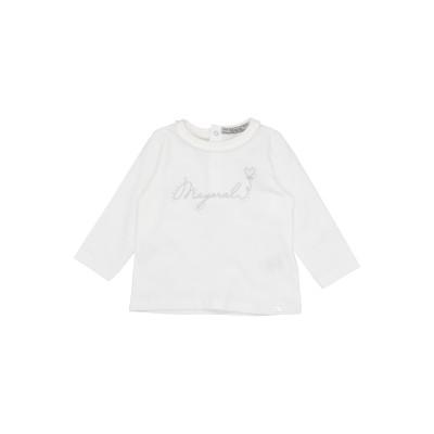 MAYORAL T シャツ アイボリー 6 コットン 95% / ポリウレタン 5% T シャツ