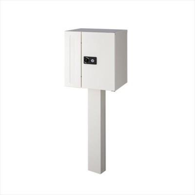 オンリーワン コロン スタンドセット ピュアホワイト GM1-COS-W 『郵便ポスト 宅配ボックス』