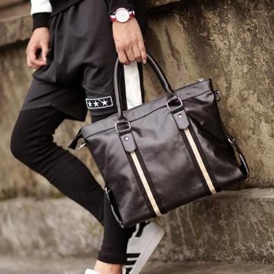 メンズ トートバッグ ハンドバッグ ショルダー ビジネス 通勤 ブリーフケース フォーマル  ボストンバッグ カバン 革鞄  2WAY 手提げ 防水