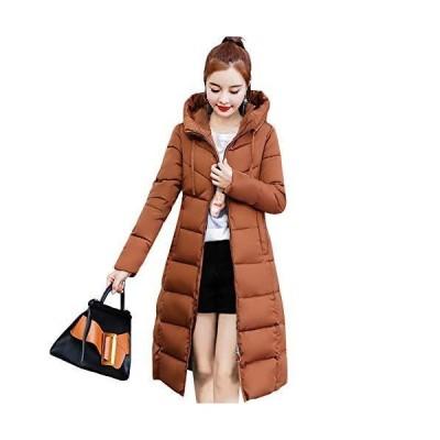 [JPバレンタインデー]ダウンコート レディース ロング ダウンジャケット フード付き 秋冬 中綿コート ベンチコ