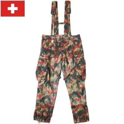 スイス軍 M70 カモフラージュパンツ USED