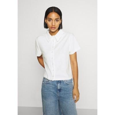 ニリーバイネリー シャツ レディース トップス ANYWHERE - Button-down blouse - white