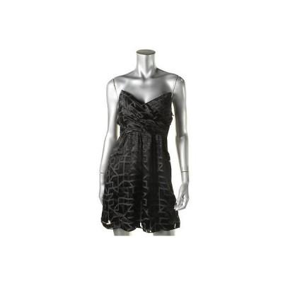 海外セレクション ドレス ワンピース Alice & Trixie 1222 レディース Chelsea ブラック シルク ストラップless Clubwear ドレス XS BHFO
