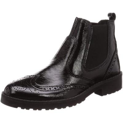 [サヴァサヴァ] ブーツ 3205001 レディース ブラックエナメル 23.5 cm