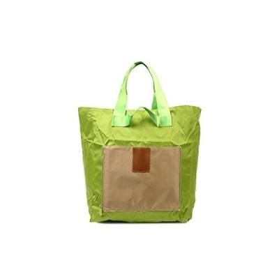 BEATON JAPAN トラベル バッグ 折りたたみ トート スーツケース 機内持ち込み バッグオンバッグ 大容量 (グリーン)