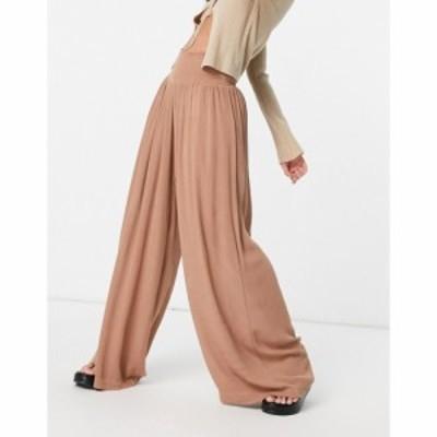 ヴェロモーダ Vero Moda レディース ボトムス・パンツ Beach Trousers In Light Brown ライトブラウン