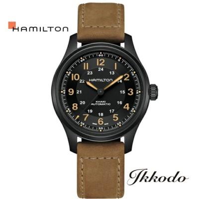 ハミルトン HAMILTON カーキフィールドチタニウム Field Titanium 自動巻き 10気圧防水 日本国内正規品 2年保証 腕時計 H70665533