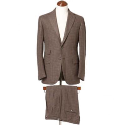 【アウトレット】Stile Latino / VINCENZO ミニチェック チェンジポケット スーツ