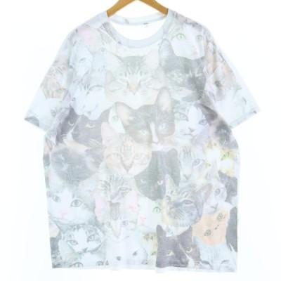 アニマルプリントTシャツ レディースXXL /eaa047973