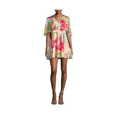 レディース ファッション  Jay Godfrey Bronfman Floral Printed Flare Dress